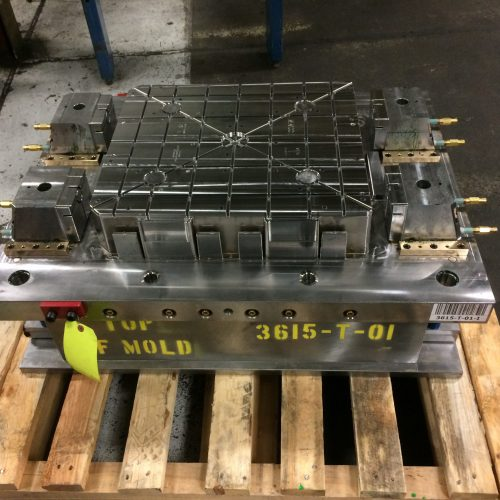 Assembly Line Parts Tray Mold